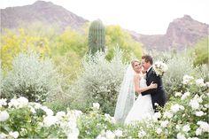 El Chorro desert wedding Scottsdale, AZ captured by Amy & Jordan Photography