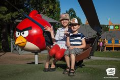 Angry Birds Park in Rovaniemi is free for anyone to visit! Angry Birds, Travelling, Tourism, Magic, Park, Free, Turismo, Parks, Travel