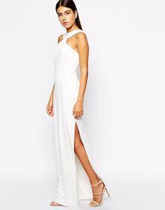 AQ AQ Libby Maxi Dress with Thigh Split