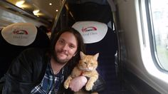 Travelling duo - from FB page James Bowen & Street Cat Bob