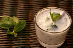 Persian Yogurt Mint Dip -- great ranch alternative for veggies and chips.