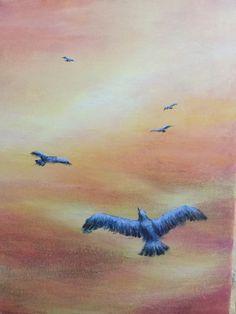 Zbor / Acrilyc on canvas