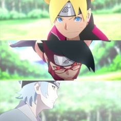 Mitsuki, Boruto and Sarada || Team 7 || Boruto: Naruto Next Generations