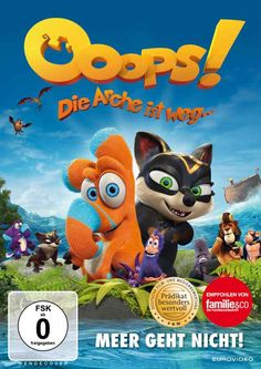 DVD Vorstellung: OOOPS! DIE ARCHE IST WEG als DVD, 2D/3D Blur-Ray … plus Gewinnspiel