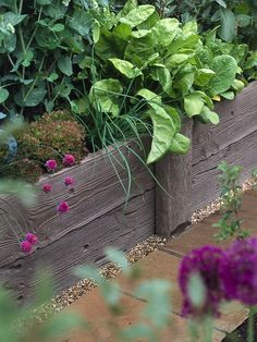 Raised beds are ideal for growing vegetables, fruits and herbs. They provide better drainage on heavier soils and a deeper root run for crops like carrots and potatoes. Raised beds also lift up trailing plants, such as strawberries, which helps to prevent rotting. If you buy fresh topsoil that's guaranteed weed- and disease-free, your crops will have a better chance of growing well.