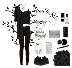 """You & me"" by pialein ❤ liked on Polyvore featuring Topshop, MBLife.com, Boohoo, Converse, Mary Kay, NARS Cosmetics, Urban Decay and Colette Malouf"