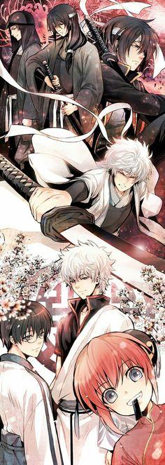 The better of Gintama! Manga Anime, Manga Art, Anime Art, Awesome Anime, Anime Love, Series Manga, Samurai, Animation, Fandom