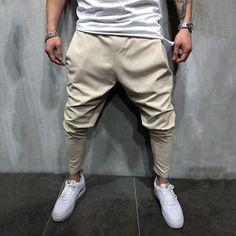 Harem Trousers, Jogger Pants, Men's Pants, Ankle Pants, Mens Fashion Suits, Fashion Pants, Fashion Edgy, Fashion Ideas, Fashion 101