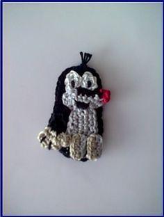 Mole pattern by Handmade ZuzuBu