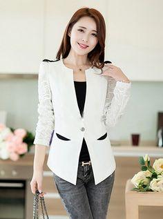 Blazer 2 Túi Tay Ren - MD1605-180 Xem chi tiết sản phẩm & mua hàng tại website:http://maygiacong.vn/blazer-2-tui-tay-ren-md1605-180