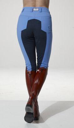 Anky -- Blue/Black contrast breeches