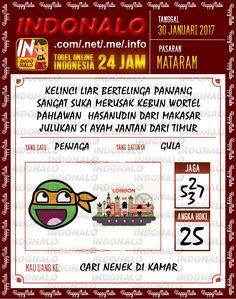 Nomer Tafsir 2D Togel Wap Online Live Draw 4D Indonalo Mataram 30 Januari 2017