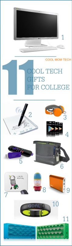 If you need a cool tech gift for someone going off to college, this list totally helps.