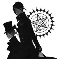 Kuroshitsuji, Ciel Phantomhive, Sebastian Michaelis