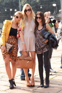 bloggers: fashion fruit, blonde salad, lovely pepa