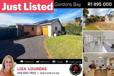 This 3 bedroom home is in pristine condition and offers a cosy sunroom, open plan lounge, kitchen and dining area. The kitchen has modern fittings and finishes and offers a lot of cupboards. The cosy sunroom opens onto the patio and garden area through sliding doors. This is the perfect place to add your braai room. There is also place for a swimming pool. 𝘾𝙤𝙣𝙩𝙖𝙘𝙩 Liza Lourens on 083 600 7850 / liza@cch.co.za #CCH #helderberg #gordonsbay #dobson #familyhome #3bedroom… 3 Bedroom House, Coastal Homes, Cupboards, Open Plan, Bay Area, Sunroom, Sliding Doors, Dining Area, Perfect Place