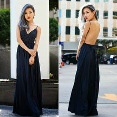 Backless Crocheted Maxi Dress