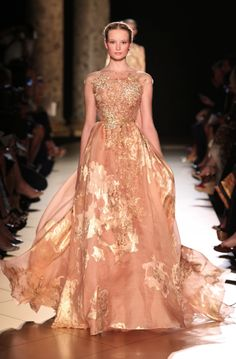 this dress reminds me so much of his debut fragrance | Elie Saab Haute Couture Fall Winter 2012-13