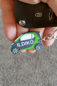 Unique Printed Smart Car Keychain with Custom Text option. We can design any type of car models on demand. Custom 3d Printing, Smart Car, 3d Prints, Custom Cars, Keychains, Key Rings, Creativity, Garage, Plate