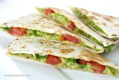 The Garden Grazer: Avocado Quesadillas (Vegan!)