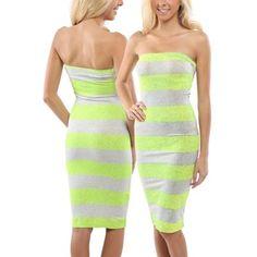5ddb61cf0404a Hurley Coco Juniors Strapless Dress - Hot Yellow Dress Skirt