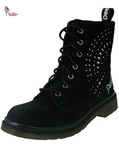 DESIGUAL Femme Designer Chaussures Boots - ROSELLO -37 - Chaussures desigual (*Partner-Link)