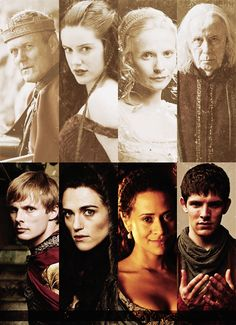 Sometimes I fear history will repeat itself...<--This is insane. The King Who Fights Against Sorcery. The High Priestess. The Queen of Camelot, who lost everything. And The Sorcerer Who Fights Against His Own Kind.