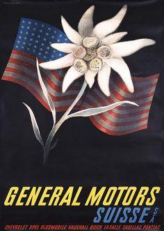 General Motors - Suisse - 1937 - (Alois Carigiet) -