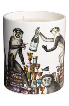 Fornasetti 'Scimmie - Segretto' Large Candle available at #Nordstrom