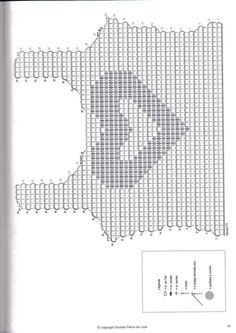 27 Ideas For Crochet Patrones Top Tops A Crochet, Crochet Bra, Form Crochet, Crochet Shirt, Crochet Diagram, Filet Crochet, Crochet Clothes, Crochet Stitches, Crochet Patterns Free Women