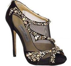 Trendy Black Wedding Shoes