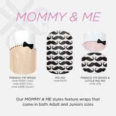 The advantage of the gel is that it allows you to enjoy your French manicure for a long time. There are four different ways to make a French manicure on gel nails. The choice depends on the experience of the nail stylist… Continue Reading → Jamberry Nails Consultant, Jamberry Nail Wraps, Jamberry Style, Mustache Nails, Jamberry Juniors, Little Diva, Nail Decals, Mani Pedi, Me Time