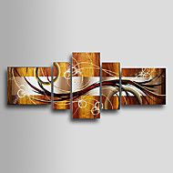 Hand-painted Abstract Oil Painting with Stretched... – USD $ 161.99