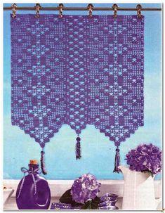 Crochet Curtains Archives - Beautiful Crochet Patterns and Knitting Patterns Crochet Curtain Pattern, Crochet Patterns Filet, Crochet Curtains, Crochet Quilt, Curtain Patterns, Lace Curtains, Crochet Art, Crochet Home, Filet Crochet