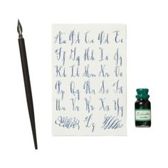 One day I will learn how to calligraphy…even just my name!!  Terrain Calligraphy Kit  #shopterrain