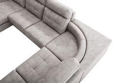 ¿Qué os parecen los sofás rinconera? Son ideales para aprovechar el espacio. #OKSofás #sofá #rinconera #Navona