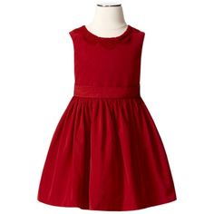 The perfect Christmas dress - I think I need to order this for my little girl! - Jason Wu Girl's Solid Dress