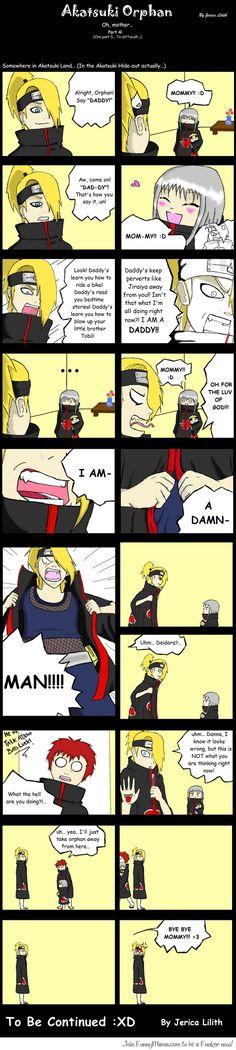 Akatsuki Orphan Comic 4 I LOVE THIS SERIES OF COMICS!