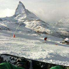 Matterhorn, me, and snowboardin'!