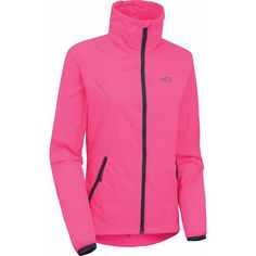 Myrbla windjack dames roze-zwart Athletic, Zip, Sport, Fitness, Jackets, Fashion, Down Jackets, Moda, Deporte