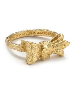 MARC by Marc Jacobs Tiny Bow Ring