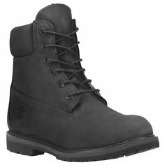 Timberland Icon 6 Black - Womens  - Size #Timberland #Boots #Casual