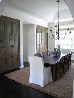 COUNTRY VALLEY - traditional - dining room - los angeles - Amber Interiors