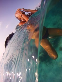 The water gets in your eyes! #yes Always Act Like It's Summer em @weheartit.com - http://whrt.it/SZ2MCn
