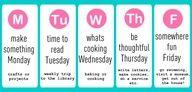 Love this idea!!!!  Summer Activity Schedule for Kids