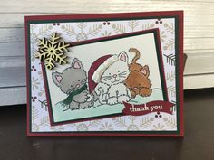 Christmas Kitties by MommaPatti - Cards and Paper Crafts at Splitcoaststampers