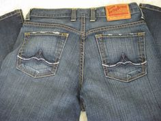 49c99ba5 womens lucky brand cropped jeans 6x28 #LuckyBrand #CapriCropped Fashion  Outfits, Womens Fashion,