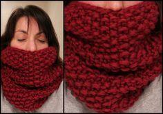 Mon snood à moi... olalala... - Caro s Bidouilles knit   sew. Snood  TricotEcharpe ... b363f9761df