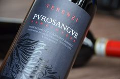 TERENZI Purosangue   wine label on Behance