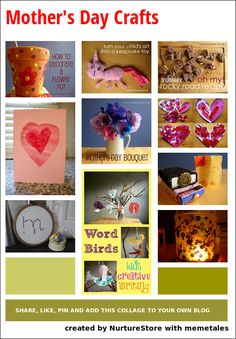 Mothers Day 2013 :: mother's day crafts